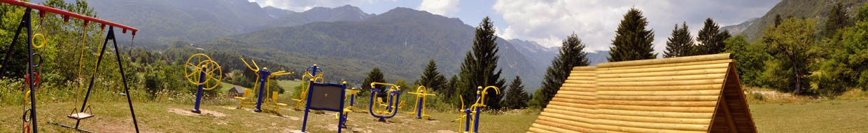 Stara Fužina - Outdoor fitness