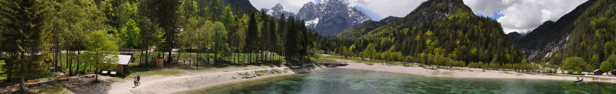 Lake Jasna - Viewing platform