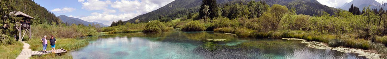 Zelenci - Second Spring of the Sava Dolinka River