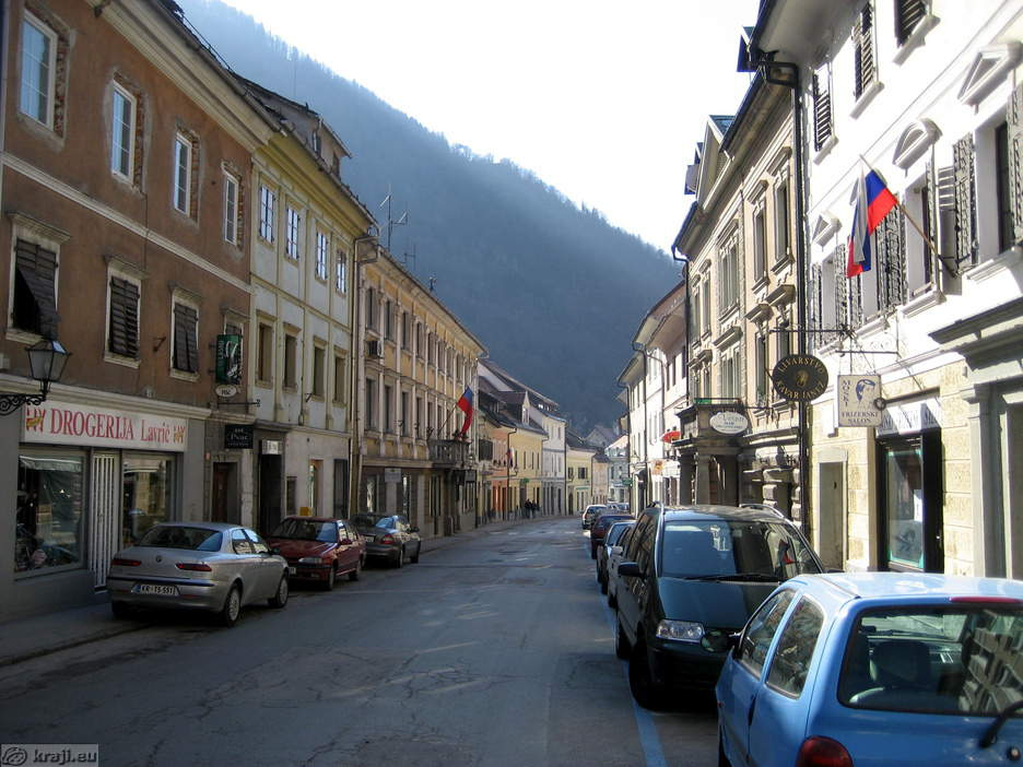 Trzic Old Town Centre