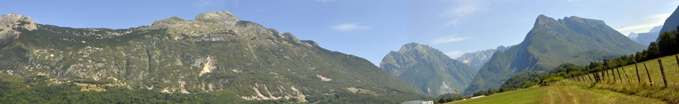 Bovec - Panorame