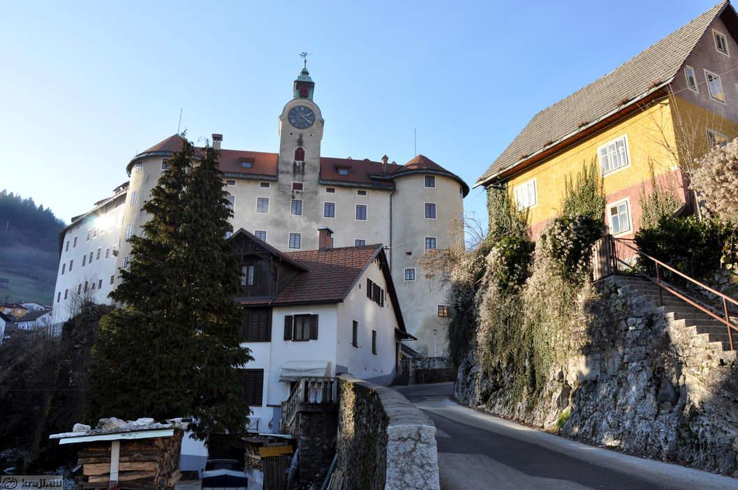 Idrija Slovenia  city photo : Idrija Castle Gewerkenegg