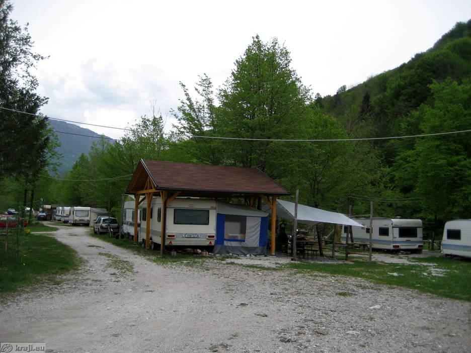 Kamp Nadiža - Prikolice