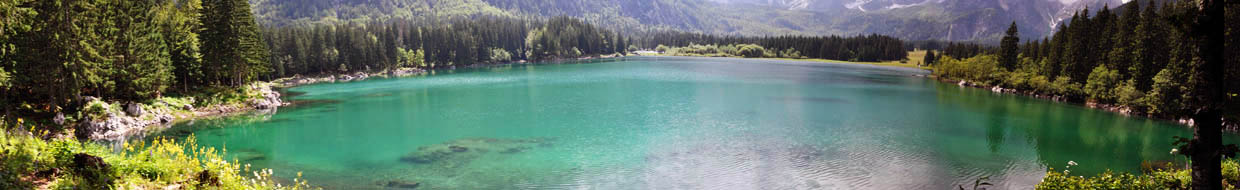 Fusine Lakes - Upper Lake