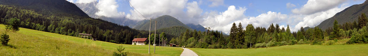 Cycle route: Ratece-Fusine Lakes