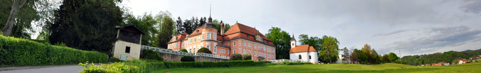 Polzela - Senek Mansion with a park