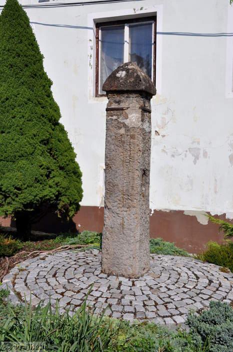 Sramotilni kamen v trgu Rečica ob Savinji