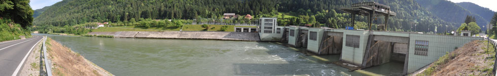 Hydroelectric power station Vuhred