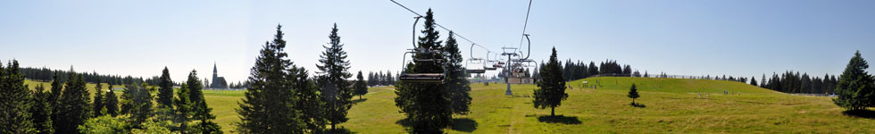 Rogla - Panoramic chairlift Planja