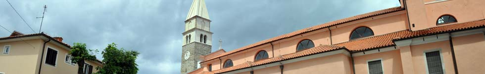 Izola - Church of St. Maurus
