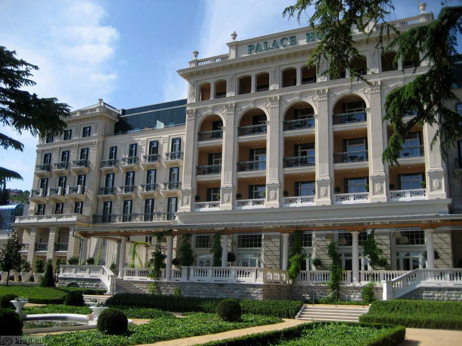 Portoroz kempinski palace hotel for Hotel palace