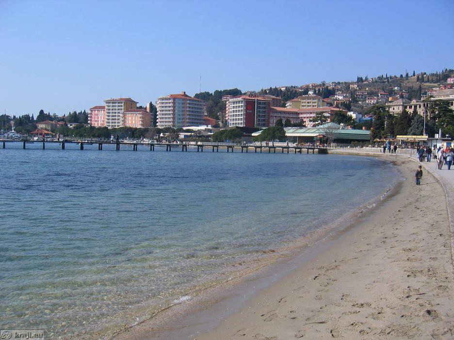 Portoroz Slovenia  city images : Portoroz Beach
