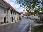 Staro mestno jedro v Višnji Gori