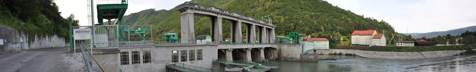 Hydroelectric power station Fala
