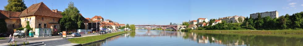 Maribor - Trips with the boat on the Drava River